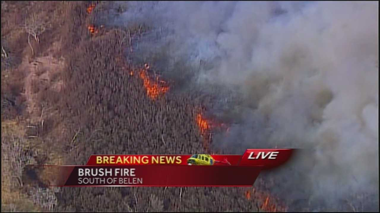 Belen Brush Fire