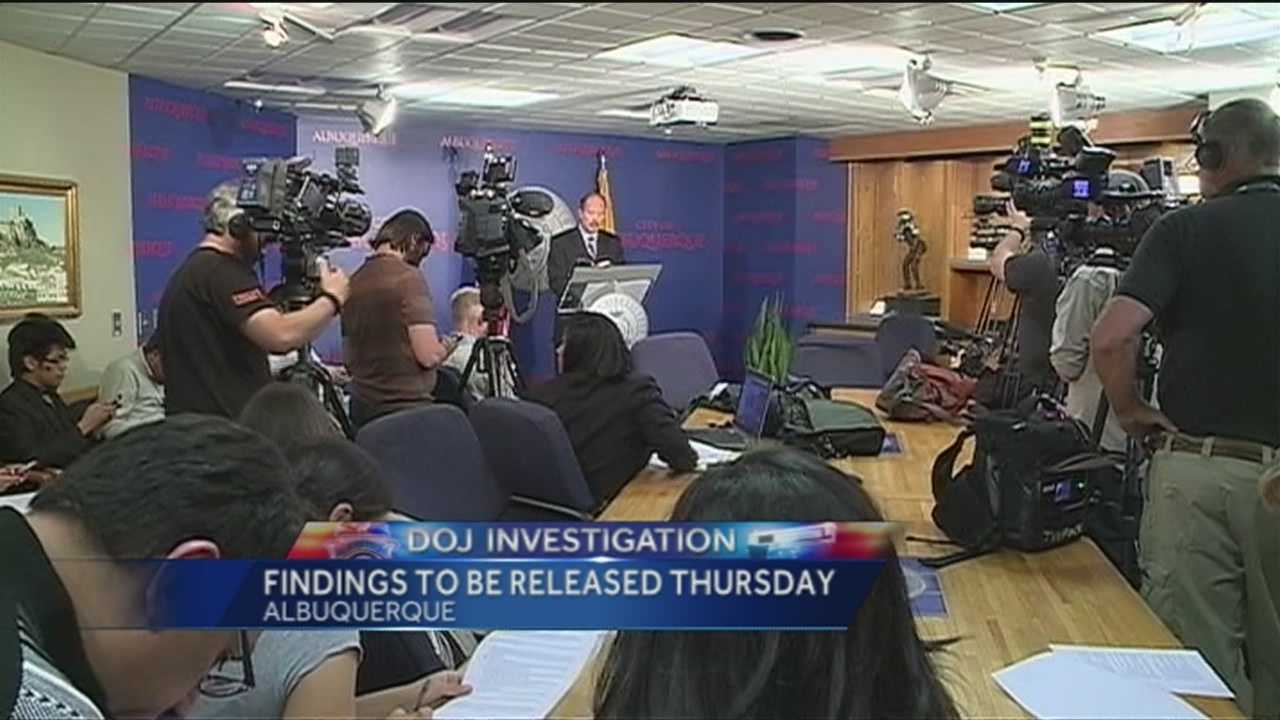 After nearly two years of investigating APD's use of force, the DOJ will announce it's findings Thursday.