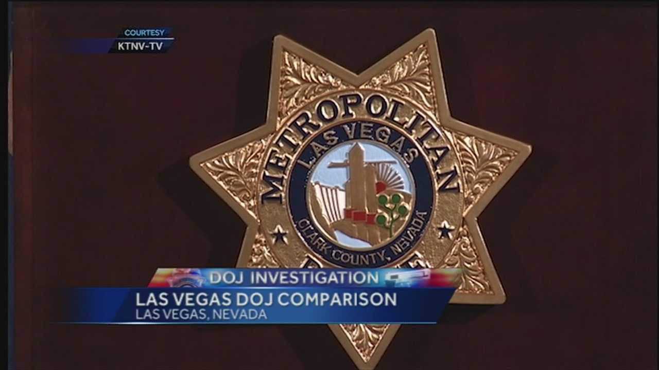 Las Vegas DOJ investigation comparison