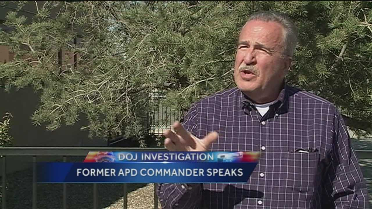 Former Albuquerque chief public safety officer gives his thoughts on what to expect from the investigation by the US department of Justice