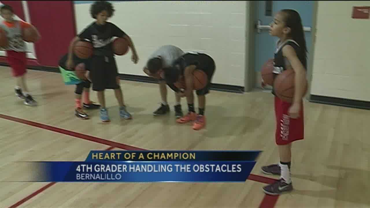 One of Albuquerque's most talented 10 year olds is gaining a lot of attention on and off the basketball court.