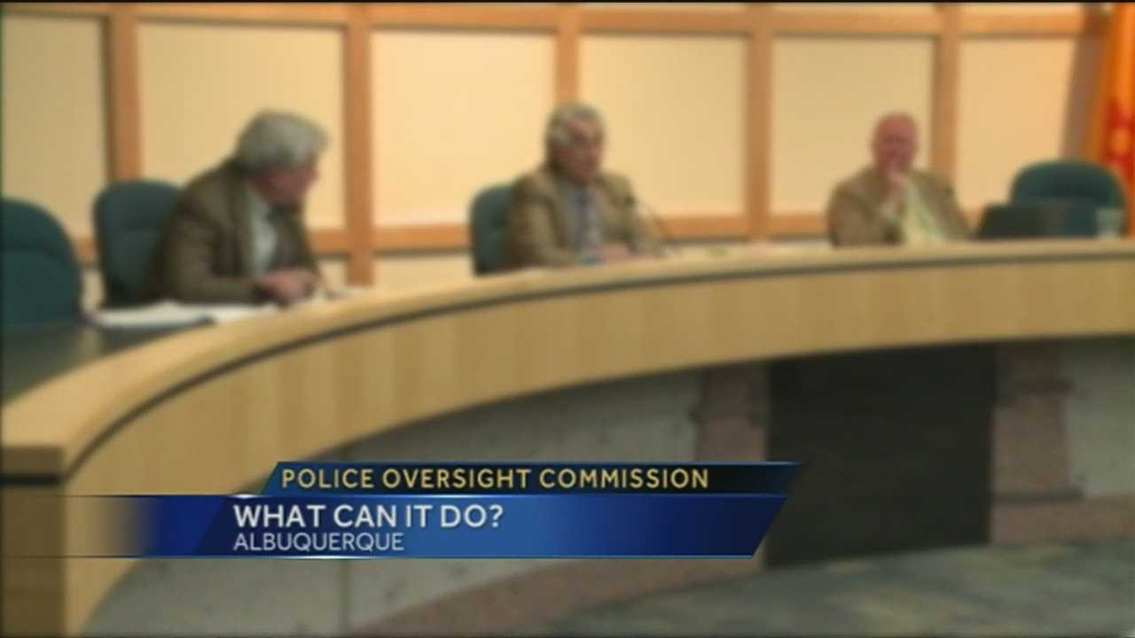 Police Oversight Commission Overview