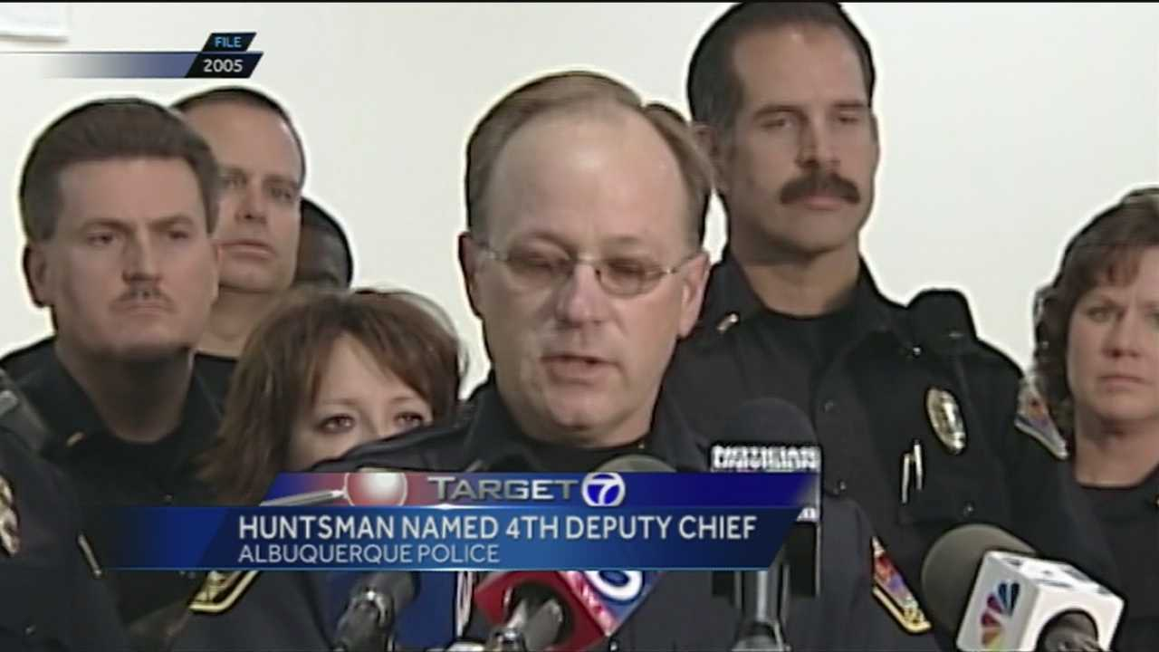 Huntsman Named 4th Deputy Chief