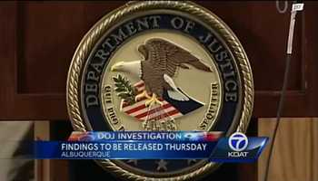 At 10 a.m. on Thursday, the U.S. Department of Justice will reveal the results of its investigation into the Albuquerque Police Department. You can watch it live on KOAT, KOAT.com and the KOAT app.