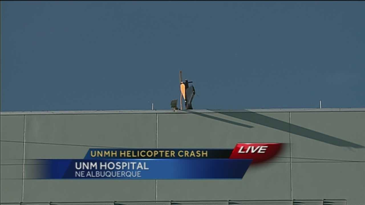 UPDATE: UNMH helicopter crash investigation
