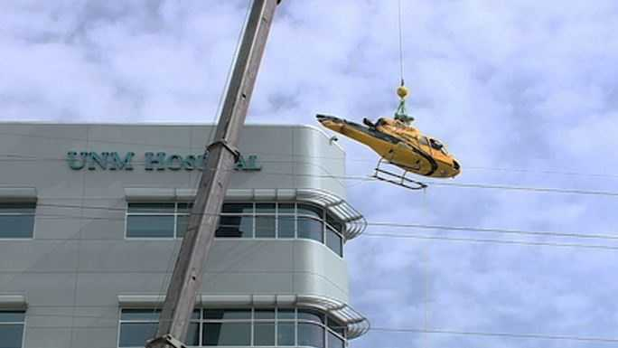Helicopter removal