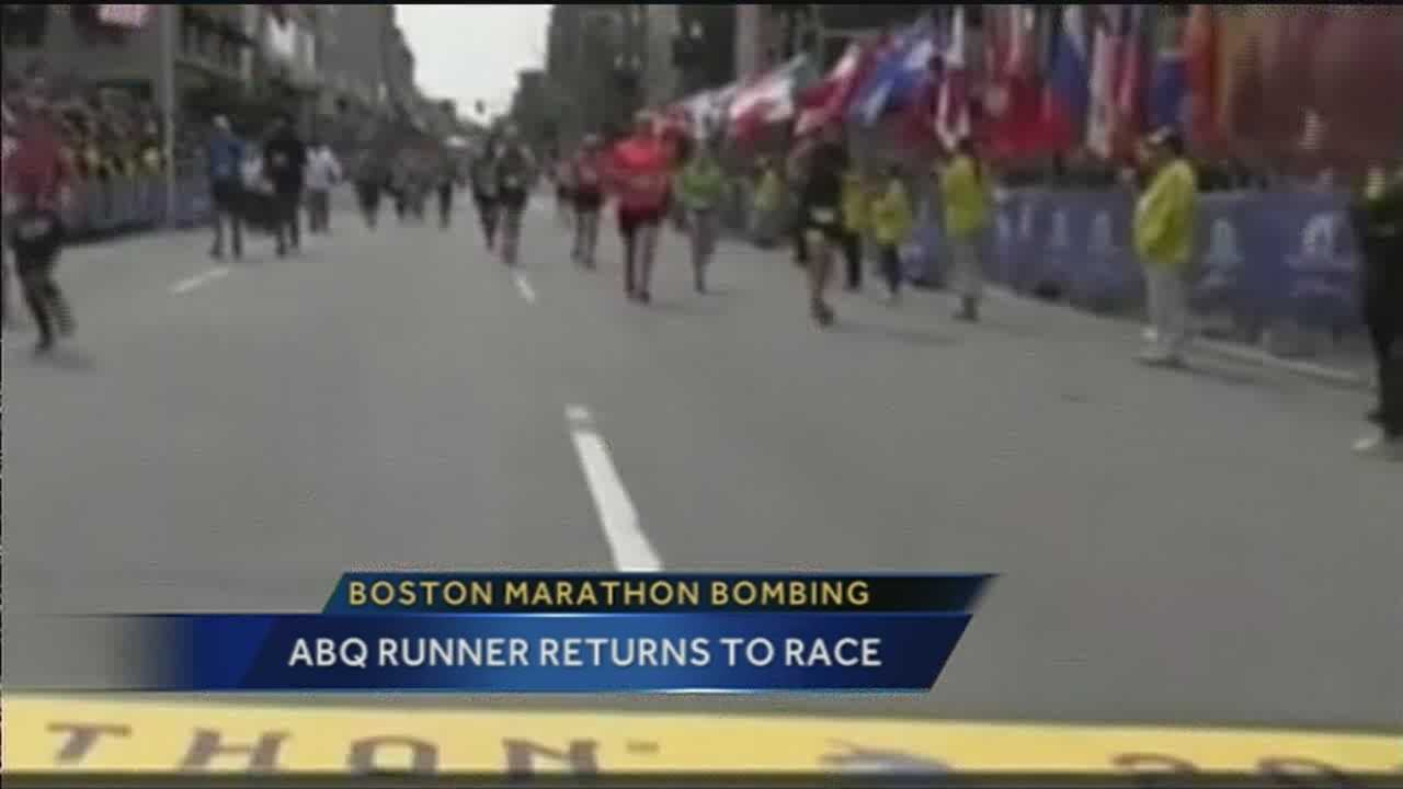 We talked to one runner here who witnessed the horrific event last year.