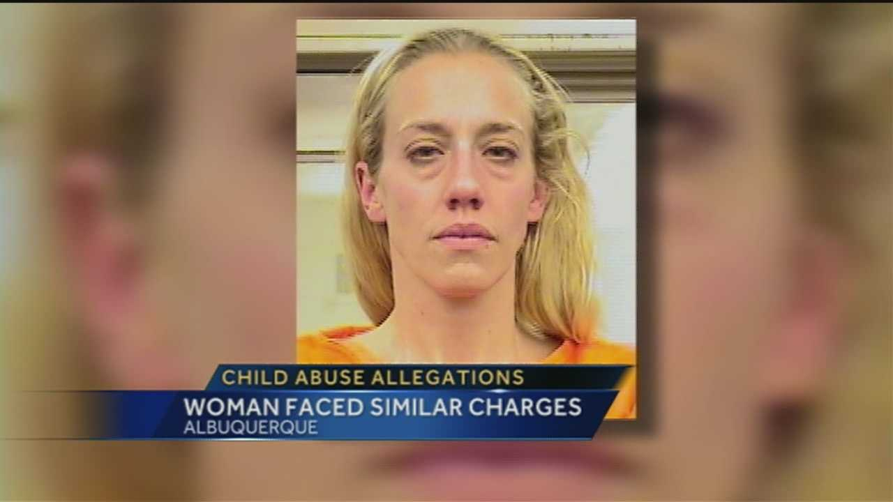 A woman accused of whipping and torturing her 4-year-old daughter faced a judge Wednesday.