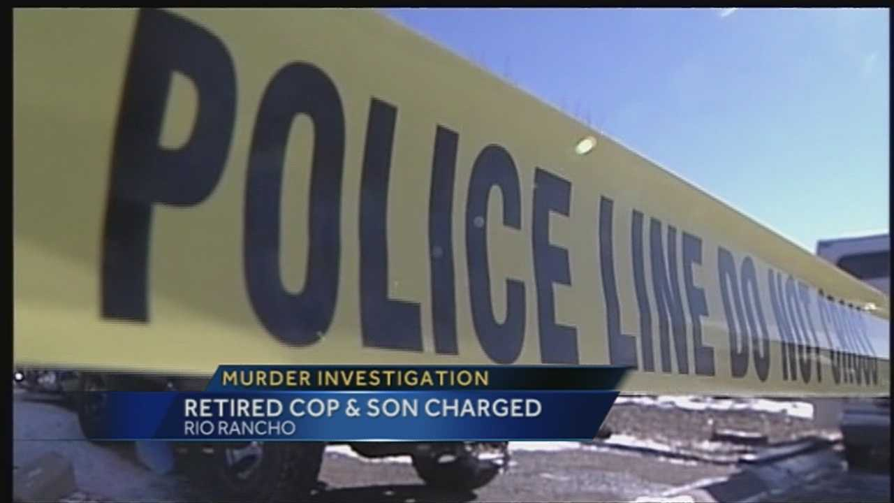 We are learning more about the arrest of a former state police officer and his son, both charged with murder.