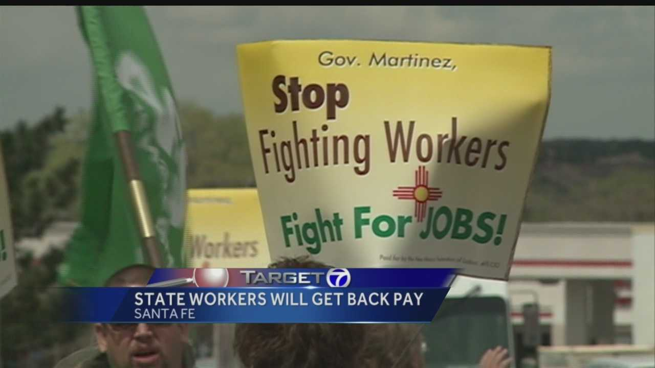 State workers  backpay
