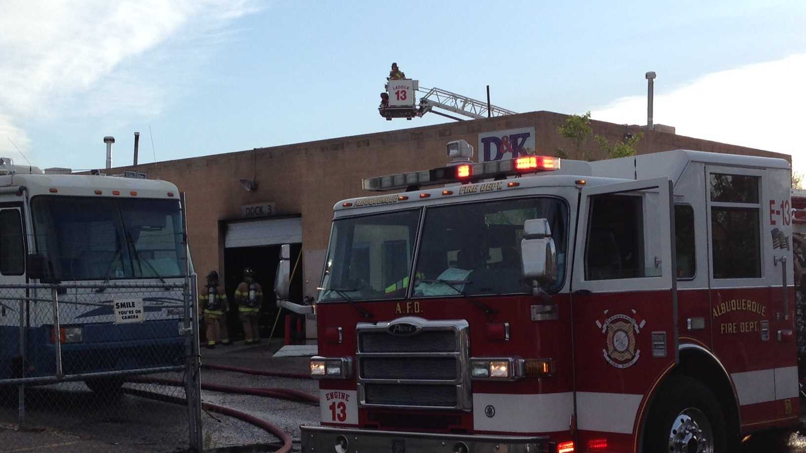 BK Motors Fire