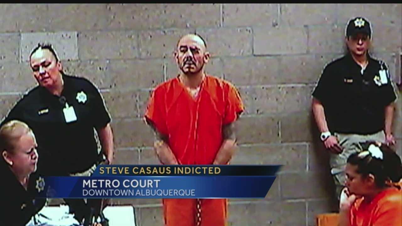 Metro court: Steve Casaus indicted