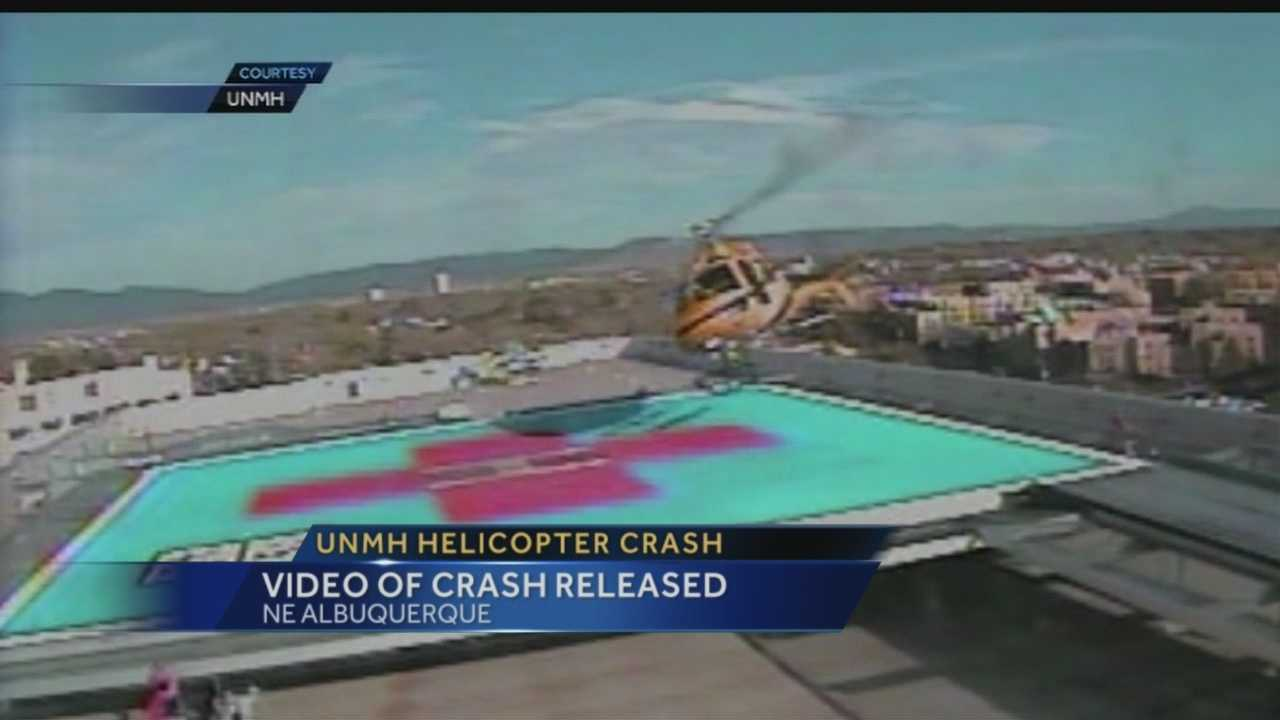 Video: UNMH Helicopter Crash