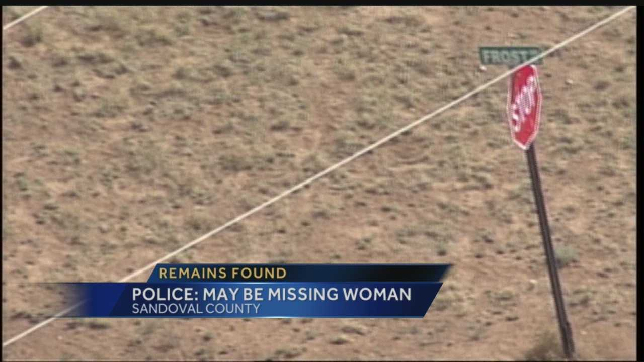 Investigators are waiting for the positive identification of human remains found this week on a New Mexico mesa.