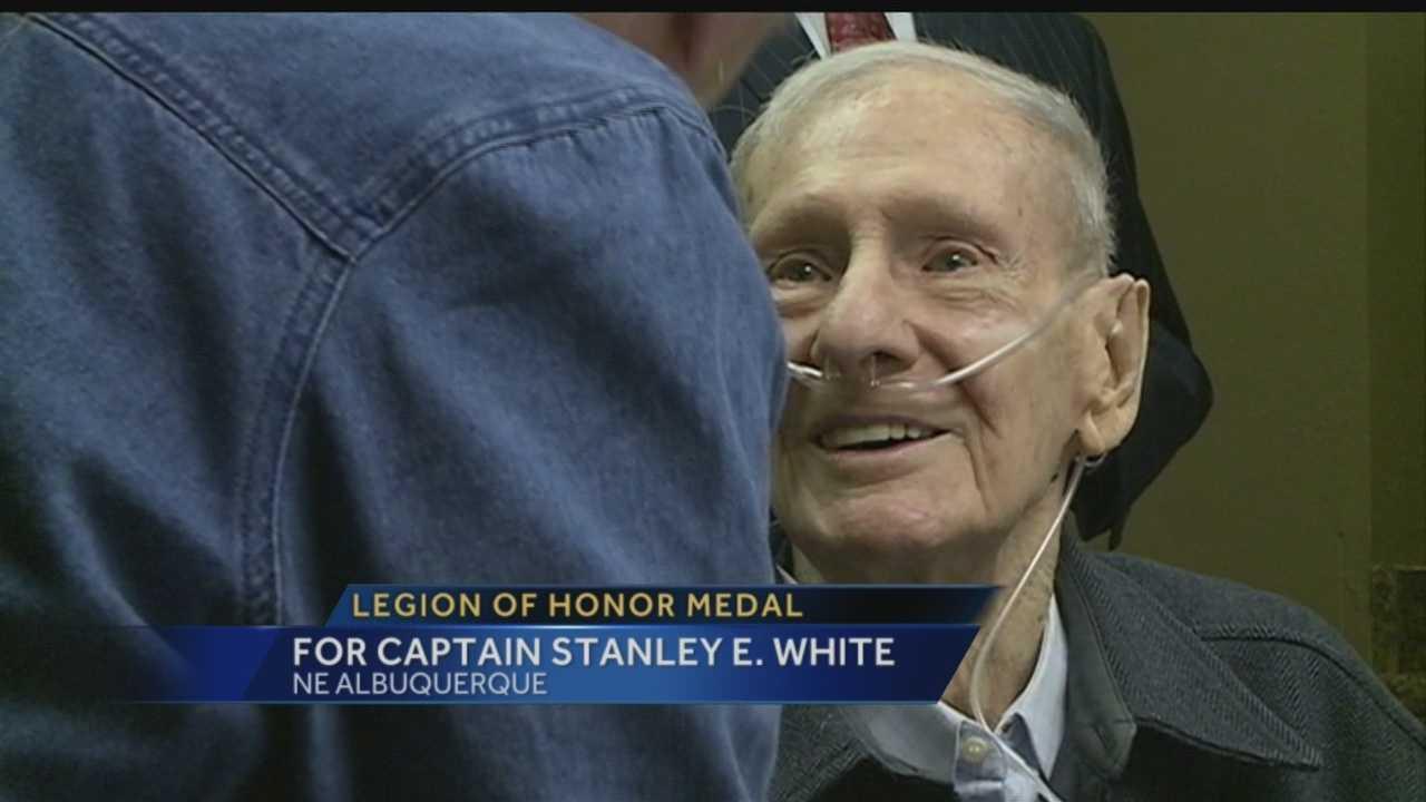 ABQ veteran receives highest French honor