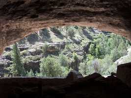 Silver City, N.M.Gila Cliff Dwellings