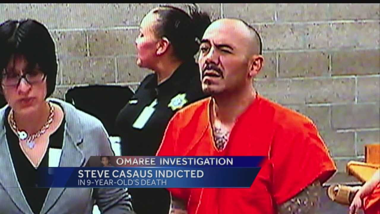 Steve Casaus was formally indicted on child abuse charges May 1.