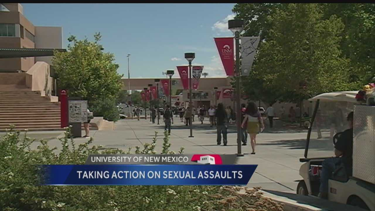 Students at UNM are taking action to try and prevent sexual assault.