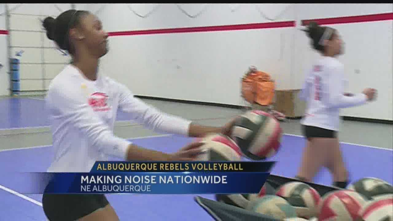 Albuquerque Rebels Volleyball Club, made up of NM's top high school players, finds success, national attention