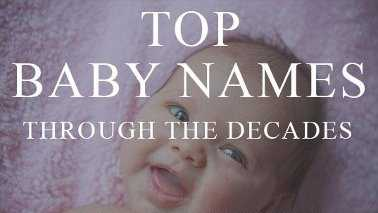 Top baby names teaser