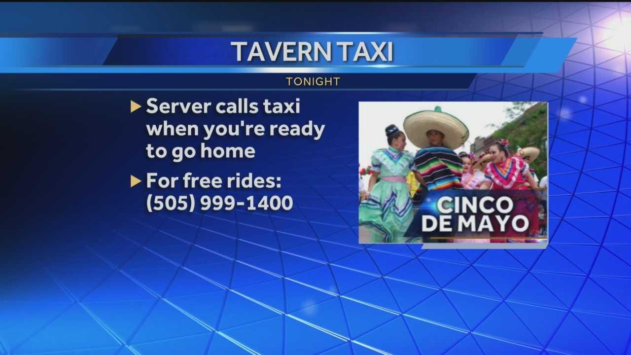 Tavern Taxi Cinco de Mayo