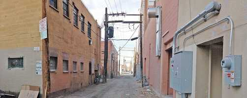 Location: AlbuquerquePotential Double: Any alley in any buddy cop movie you've ever seen