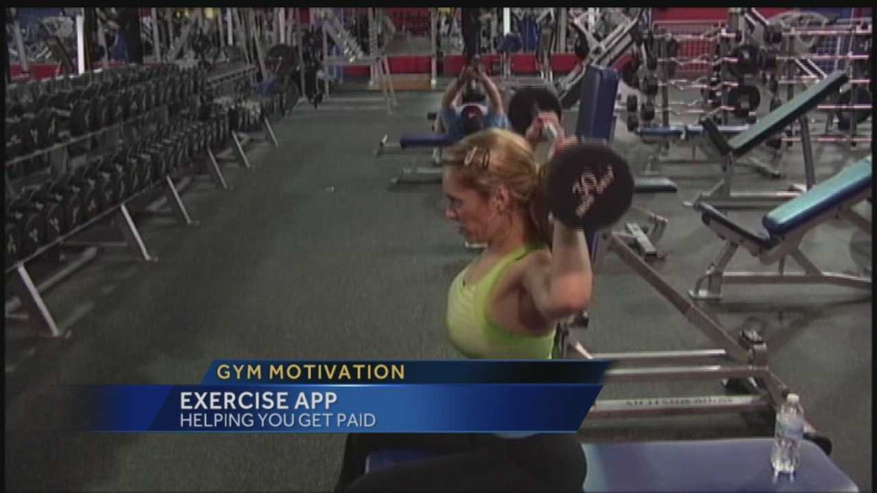 Exercise app could help with gym motivation