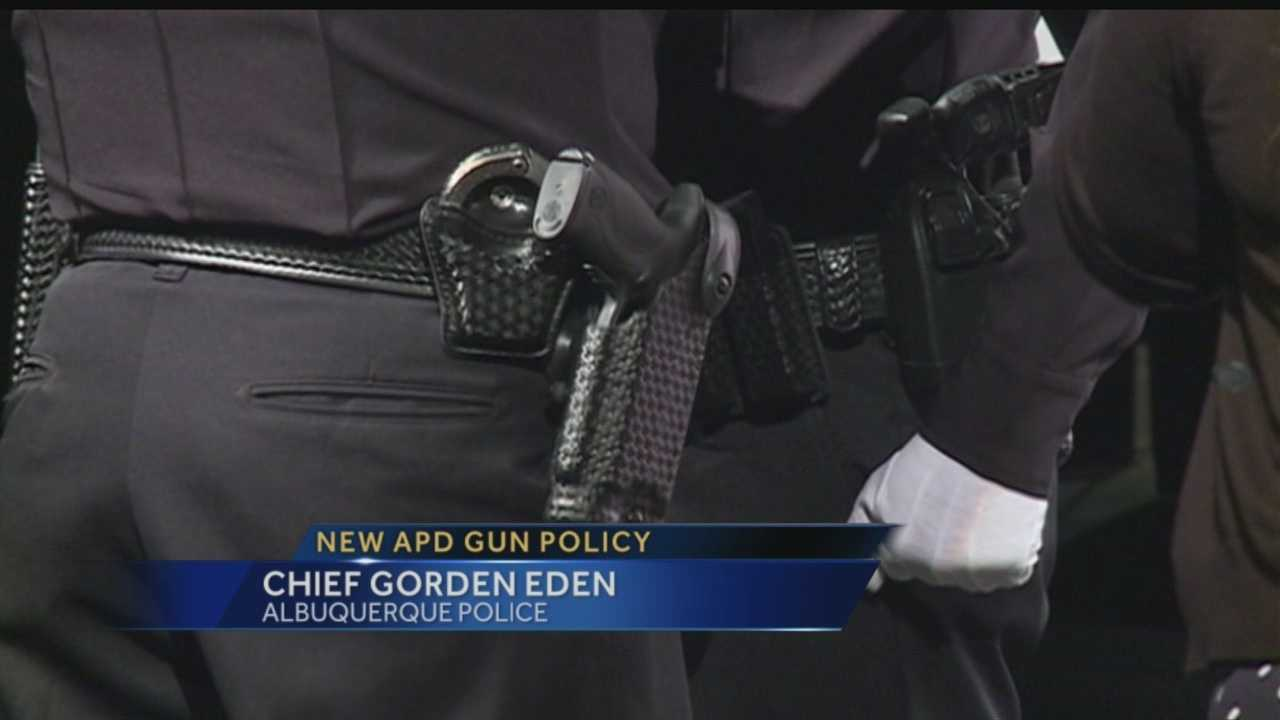 APD officers are no longer aloud to carry personal firearms on them while on duty.