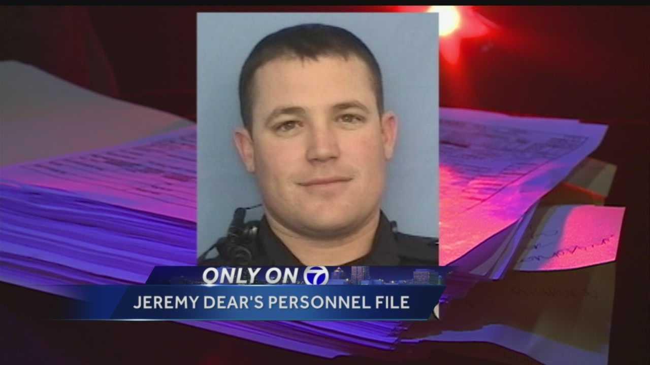 Officer Jeremy Dear: Pattern of Questional Behavior?