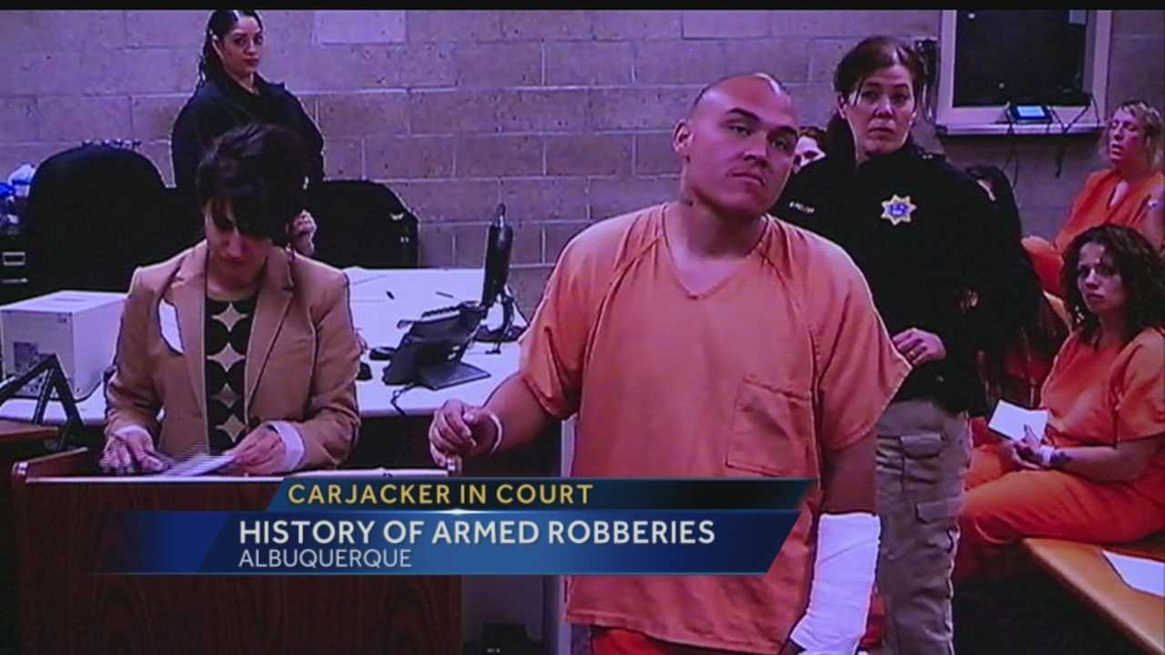 Taco Bell carjacker has history of armed robberies