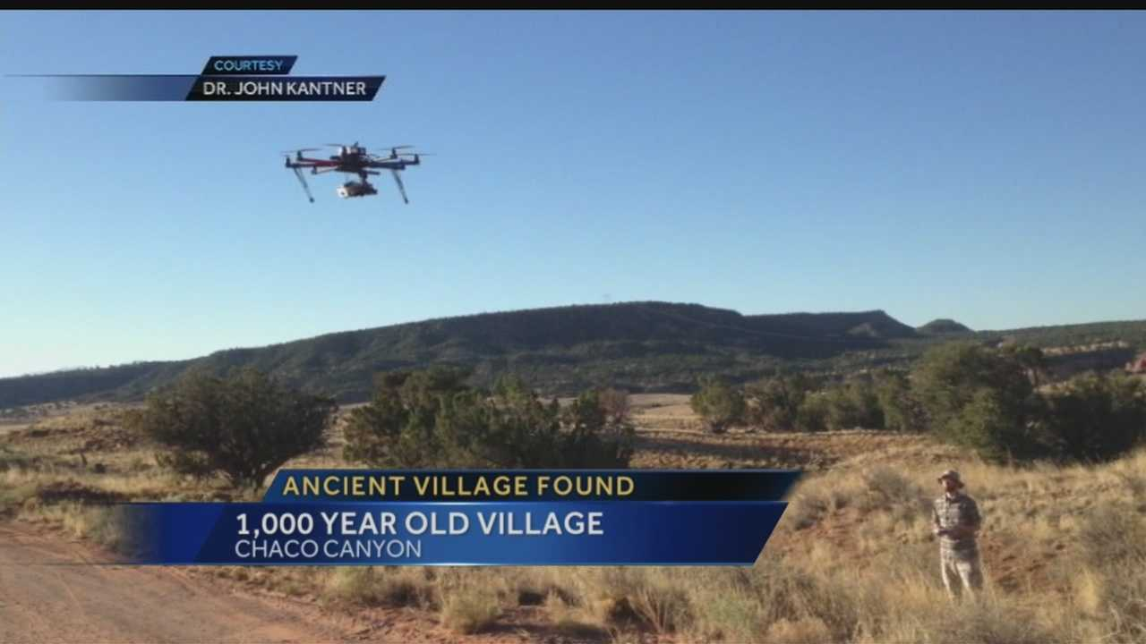 Drone used to unearth 1,000-year-old Chaco Canyon village
