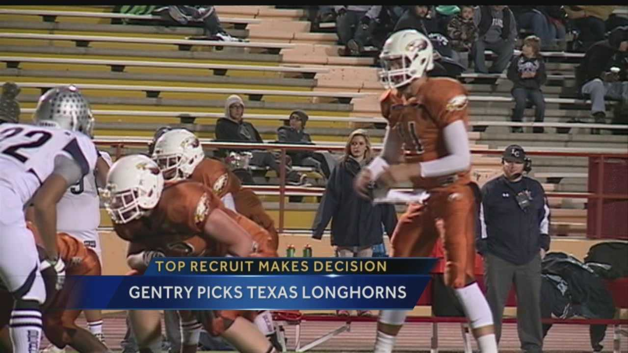 New Mexico's most highly recruited football player is going to Texas.