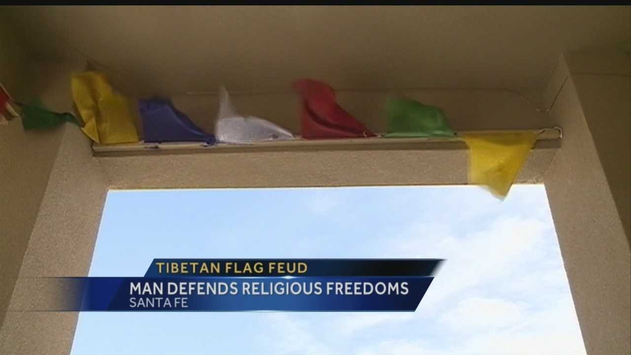 A Santa Fe Buddhist said he's shocked he has to defend his religious rights in the United States.