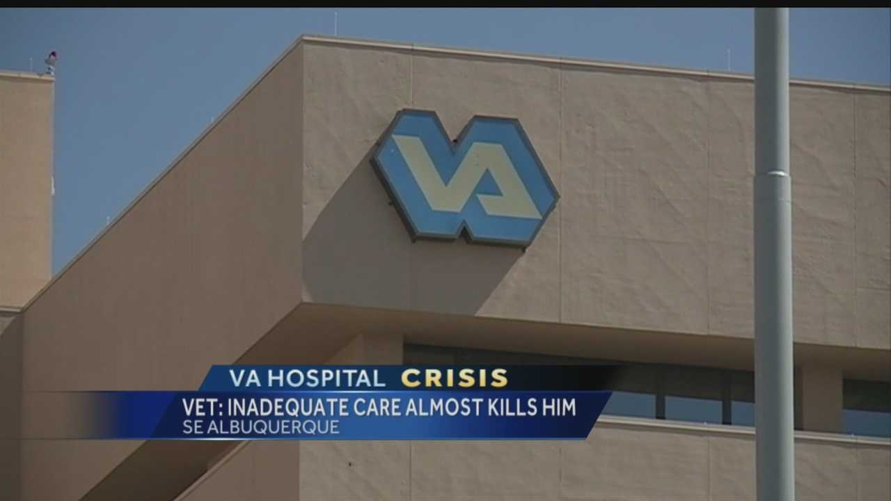 More and more veterans have been calling the KOAT newsroom with stories of long waits and inadequate care at Albuquerque's Veterans Affairs Hospital this week.