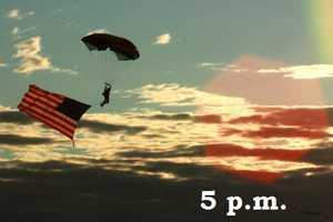 5 p.m.Las Cruces, Lowering of Garrison Flag, Veterans Memorial Park