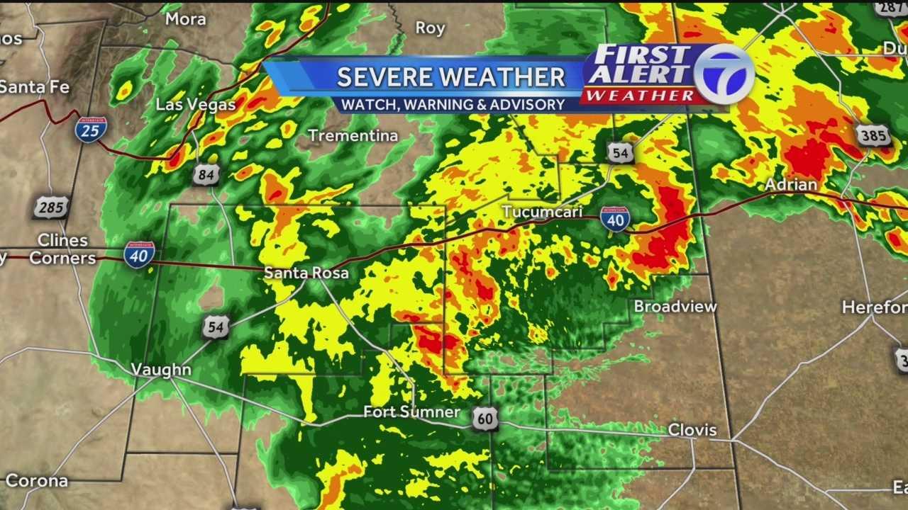 Rain, hail expected to pummel eastern NM