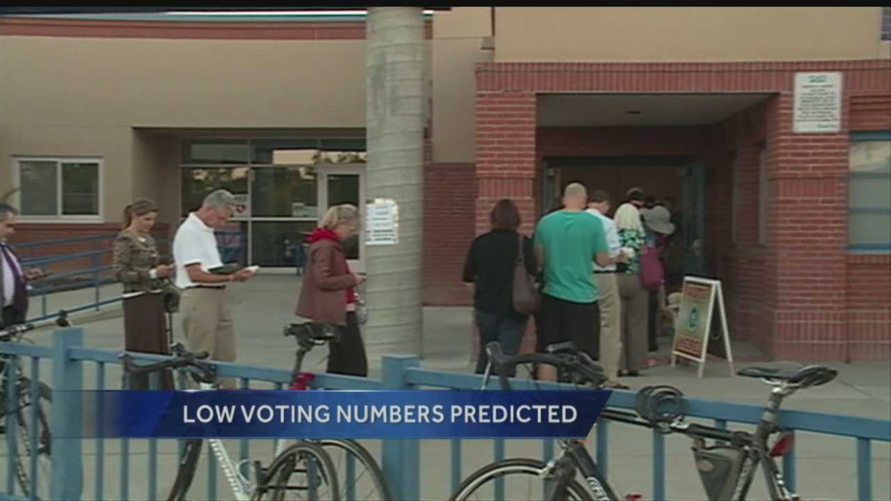 It's already been predicted that this years primary voter turnout will be low.
