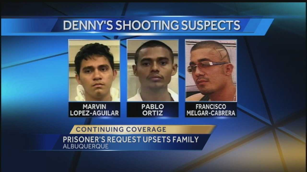 Fatal Denny's robbery: Prisoner's request upsets family