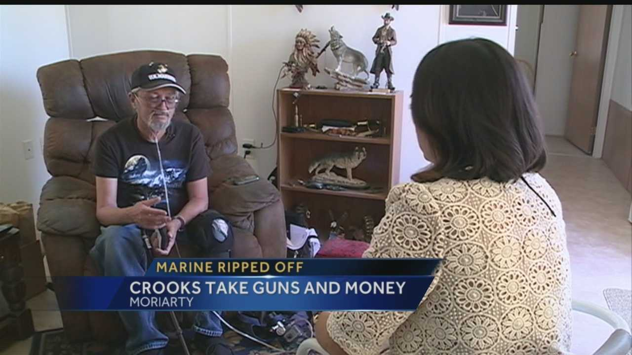 Two Veterans Robbed