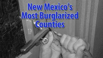 See which counties have the most burglaries per thousand residents according to data from the FBI collected by Safewise.com