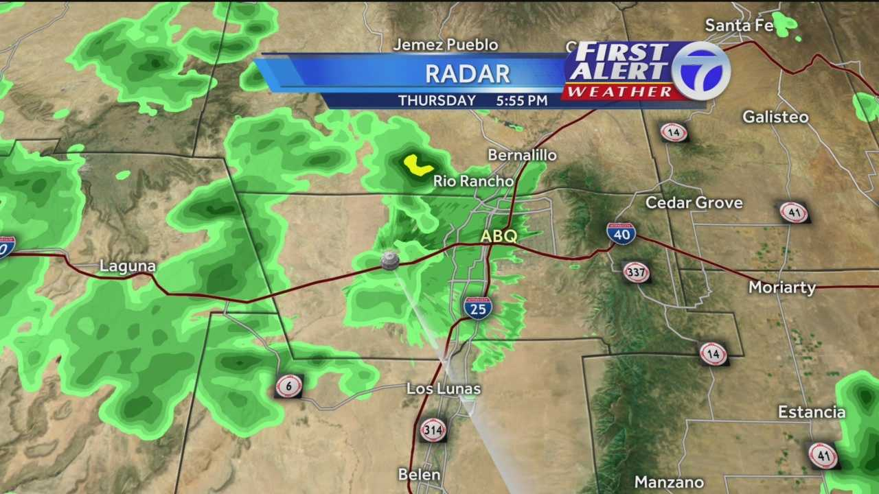First Alert Weather: ABQ could see rain Thursday night