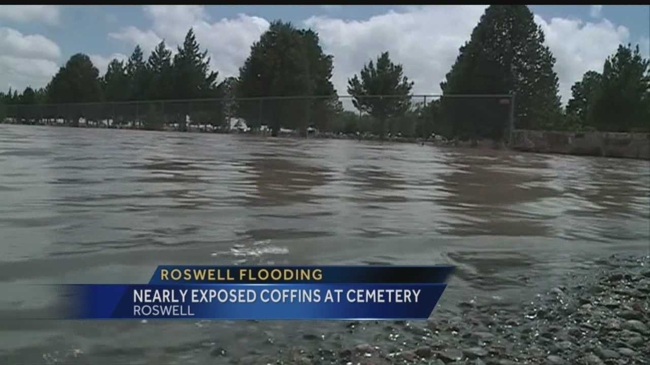 City-run cemetery receives brunt of storm damage