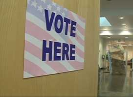 1. Polls open at 7 a.m. and close at 7 p.m. You can cast your vote as long as you're in line when the polls close.