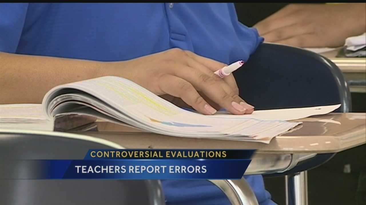 Some teachers in New Mexico don't mind getting evaluated, but mistakes found in recent evaluations are making the process frustrating for some.