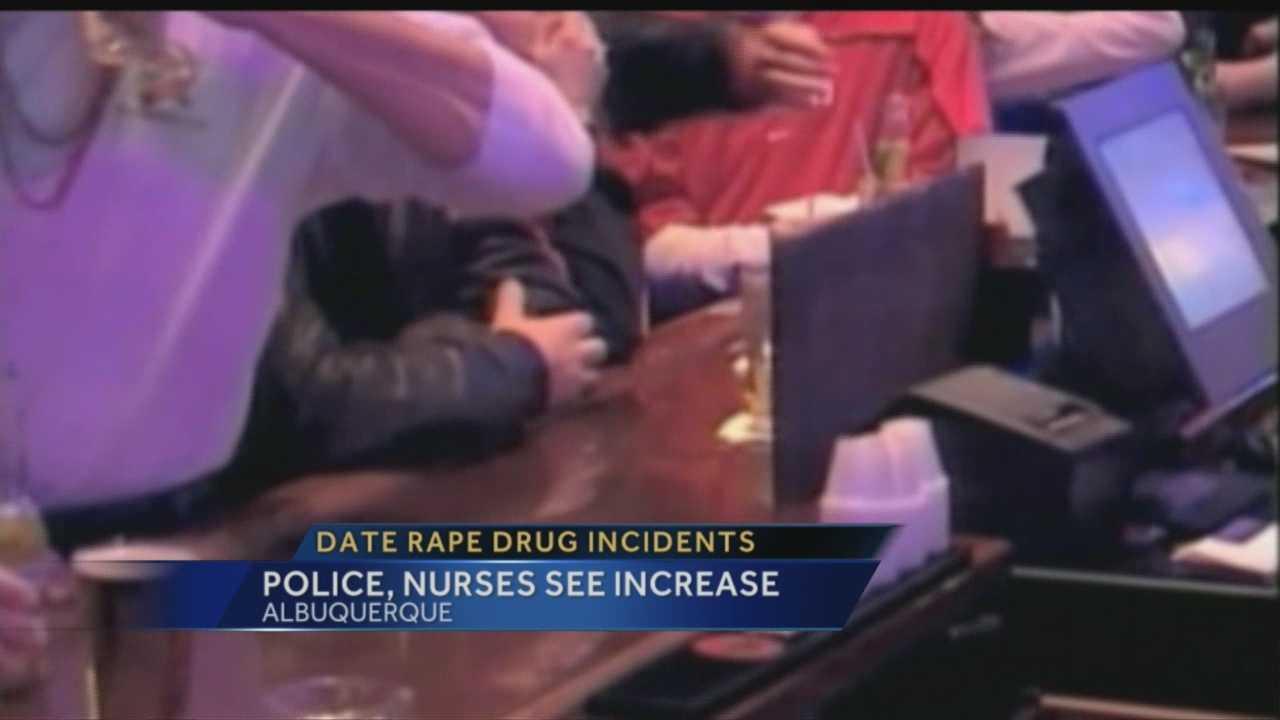 Rise in Date Rape Drugs
