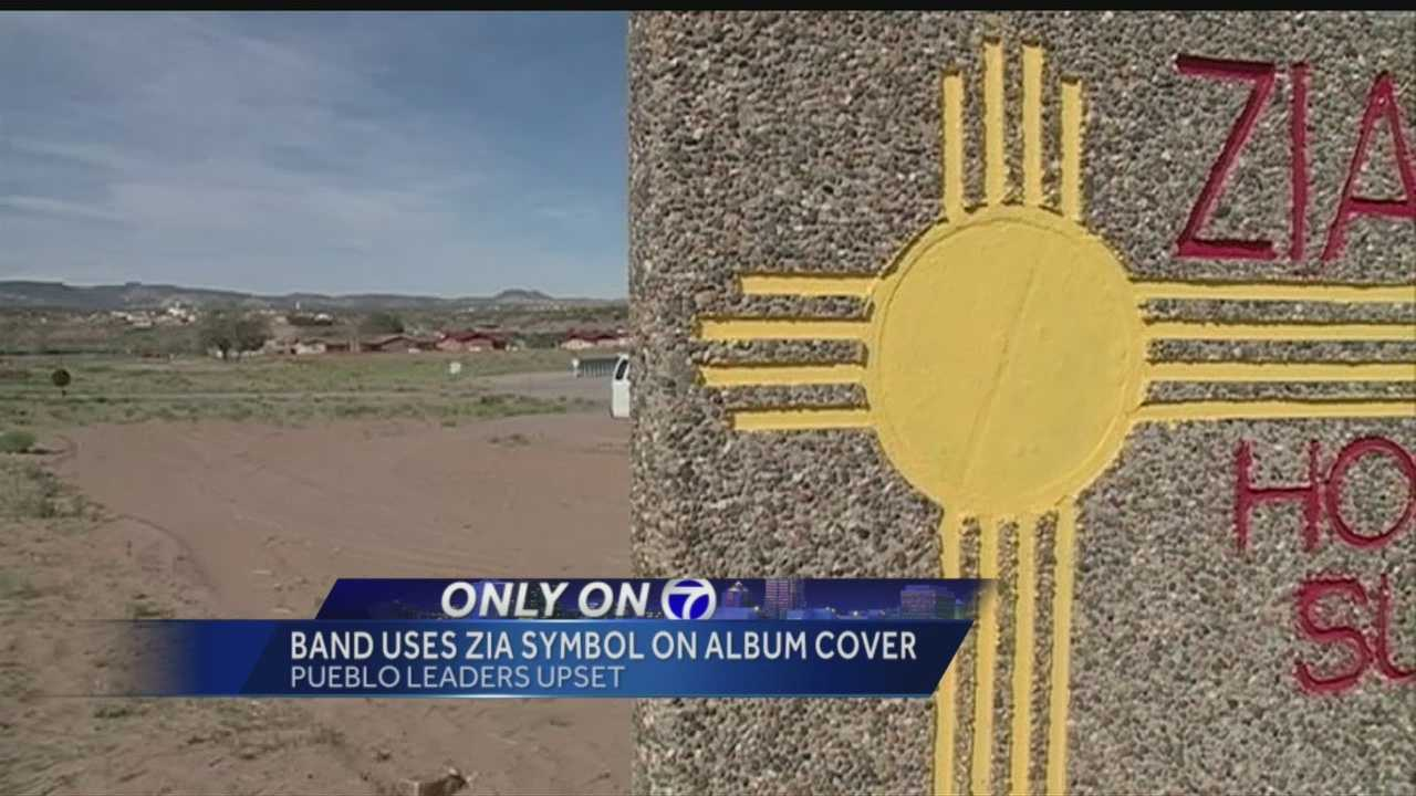 Zia Pueblo Uspset over Symbol Usage