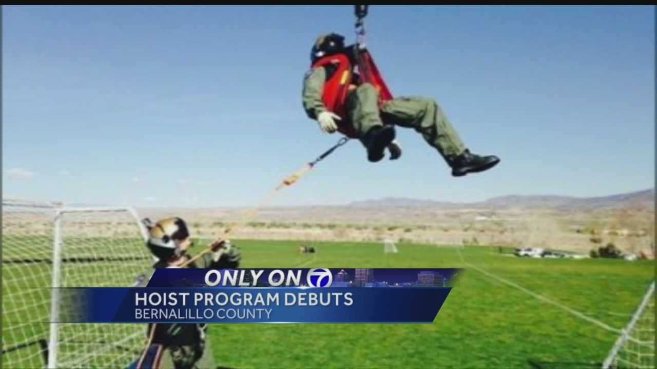 Bernalillo County has employed a new program to save hikers in distress right from trails.