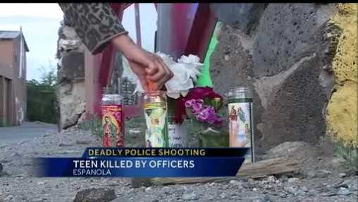 Today state officials confirm, Espanola police shot and killed a 16 year old boy.