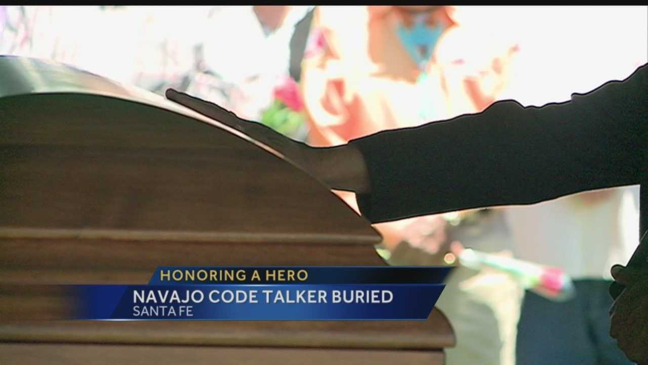 """""""The original 29 (Code Talkers) are now back together, in heaven,"""" Chester Nez's son said during funeral services."""