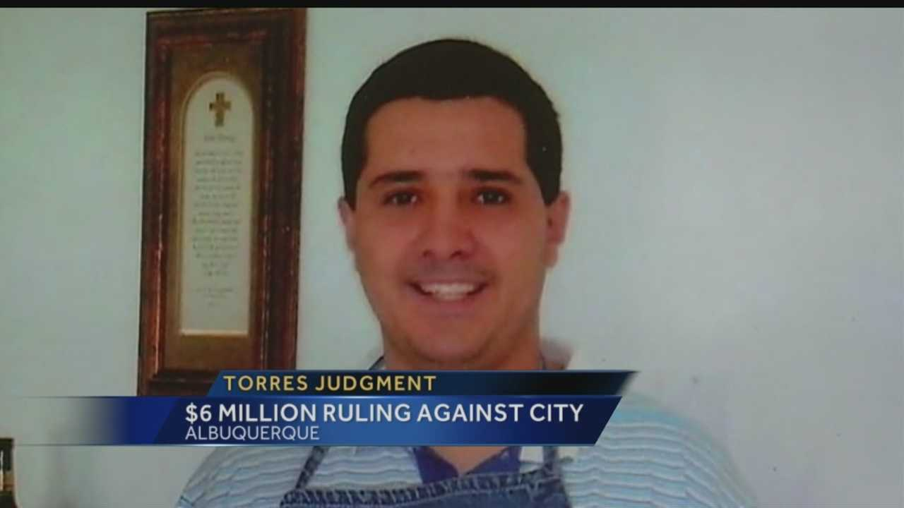 A district court judge has ordered the city of Albuquerque to pay more than $6 million for the wrongful death of Christopher Torres.